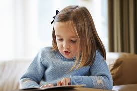 child reading 5